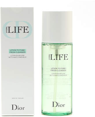 Christian Dior Hydra Life Lotion To Foamfresh Cleanser