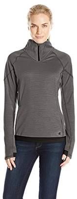 Champion Women's Performance Fleece Quarter-Zip Jacket
