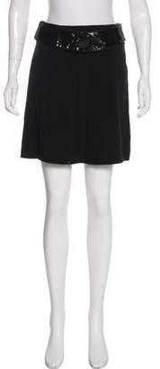 Etro Woven Mini Skirt