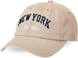 E By Elidan Khaki New York Est. 1625 Baseball Cap