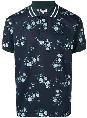 Kenzo floral short-sleeve polo top