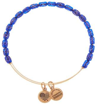 Alex and Ani Starlight Dusk Beaded Expandable Wire Bracelet