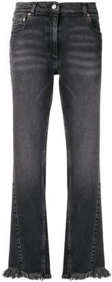 Magda Butrym Nelsonville frayed hem jeans