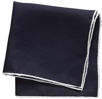 Banana Republic Solid Silk Pocket Square