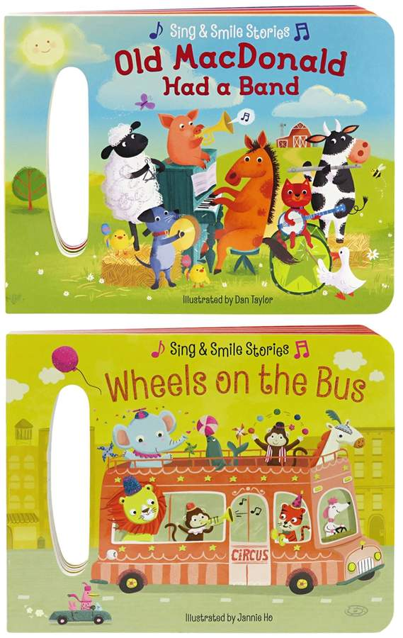 Cottage Door Press 2 Pack: Old MacDonald Had a Band & Wheels on the Bus