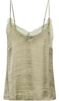 Love Stories Camelia Lace-trimmed Satin Camisole