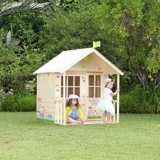 TP Toys Wooden Meadow Cottage Playhouse