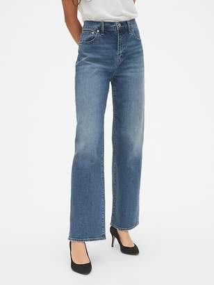 Gap High Rise Wide-Leg Jeans