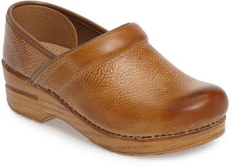 Dansko Distressed Professional Clog
