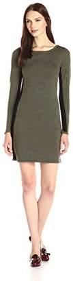 Design History Women's Colorblock Sweater Dress $40.93 thestylecure.com