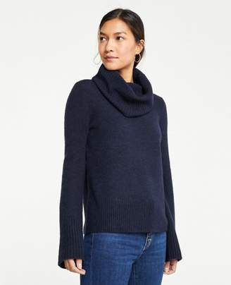 Ann Taylor Cozy Ribbed Turtleneck Sweater