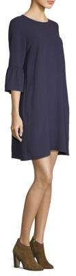 Eileen Fisher Silk Roundneck Shift Dress