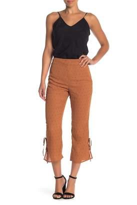 Wild Honey High Waist Cropped Flare Pants