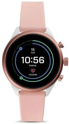 Fossil Sport Pink Watch, 41mm