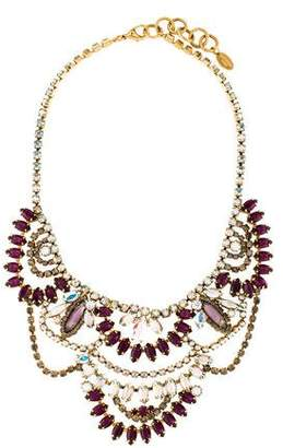 Elizabeth Cole Crystal Stephanie Necklace