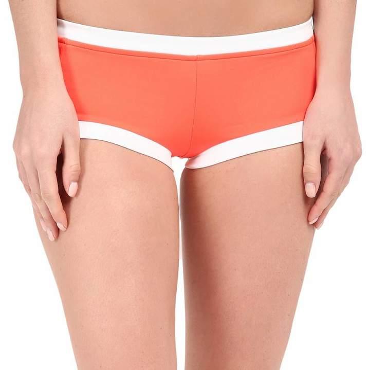 Orange Block Party Boyleg Bikini Briefs