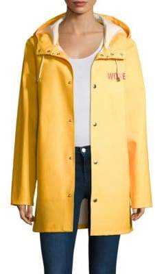 Stutterheim Yellow Raincoat