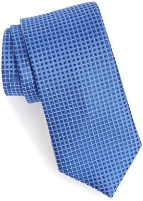 CALIBRATE Jallot Check Silk Tie