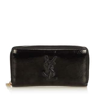 Saint Laurent Black Patent leather Wallets