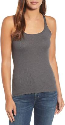 Rosemunde Silk & Cotton Ribbed Tank