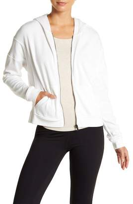 Betsey Johnson Front Zip Hooded Jacket