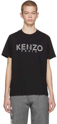 Kenzo Black Classic Paris T-Shirt