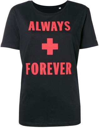 A.F.Vandevorst (エーエフ ヴァンデヴォルスト) - A.F.Vandevorst Always + Forever printed T-shirt