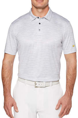 JACK NICKLAUS Jack Nicklaus Easy Care Short Sleeve Pattern Polo Shirt