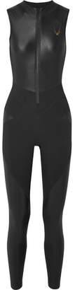 Lucas Hugh Kubrick Paneled Stretch Bodysuit - Black