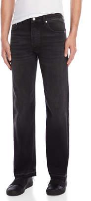 Sandro Faded Black Jeans