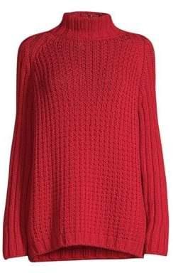 Max Mara Amburgo Chunky Mockneck Sweater