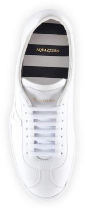 Aquazzura The A Two-Tone Leather Sneakers
