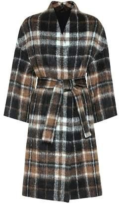 Brunello Cucinelli Brushed wool and alpaca coat