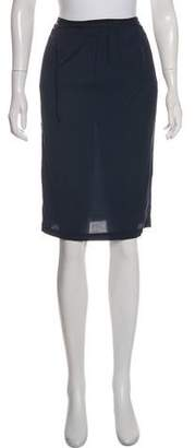 Humanoid Knee-Length Pencil Skirt