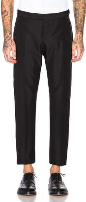 Thom Browne Trousers in Black | FWRD