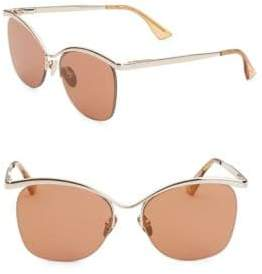 Le Specs Luxe 55MM Semi-Charmed Sunglasses