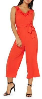 Dorothy Perkins Plays Ruffled Jumpsuit