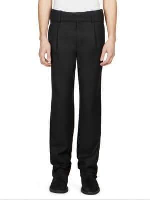 Saint Laurent Tuxedo Wool Trousers