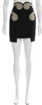 Sass & Bide Embellished Mini Skirt w/ Tags