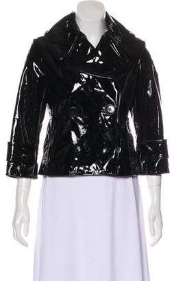 Robert Rodriguez Patent Leather Jacket