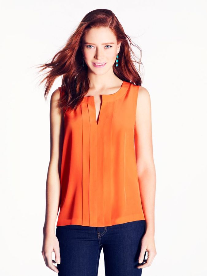 Kate Spade Silk addie top