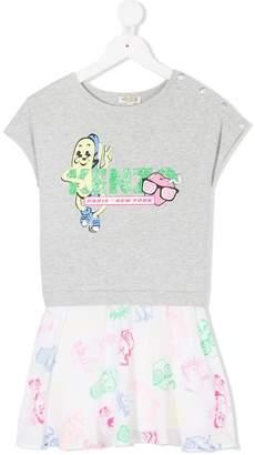 Kenzo printed tunic T-shirt