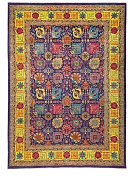 Abstract Area Rug, 9'10 x 13'8