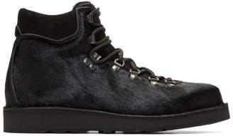 Diemme Black Calf-Hair Roccia Vet Boots