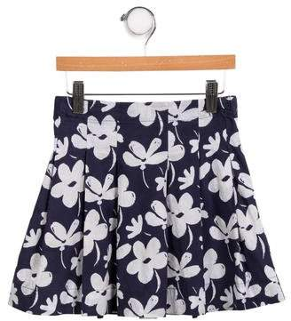 Marni Junior Girls' Floral Printed Skirt