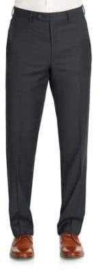Lauren Ralph Lauren Classic-Fit Sharkskin Double Pleated Pants