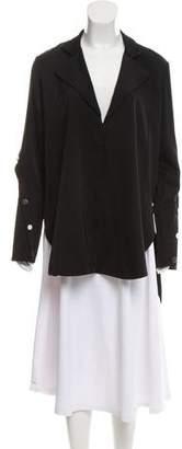 Ellery Silk Button-Up Tunic