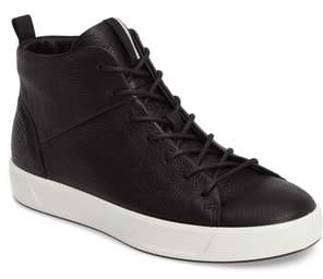 Ecco Soft 8 High Top Sneaker