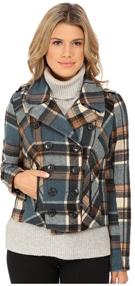 dollhouse Double Breasted Notch Collar Jacket w/ Zipper Pockets $69.99 thestylecure.com