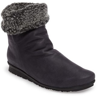 Women's Arche Barosa Faux Shearling Cuffed Bootie $424.95 thestylecure.com